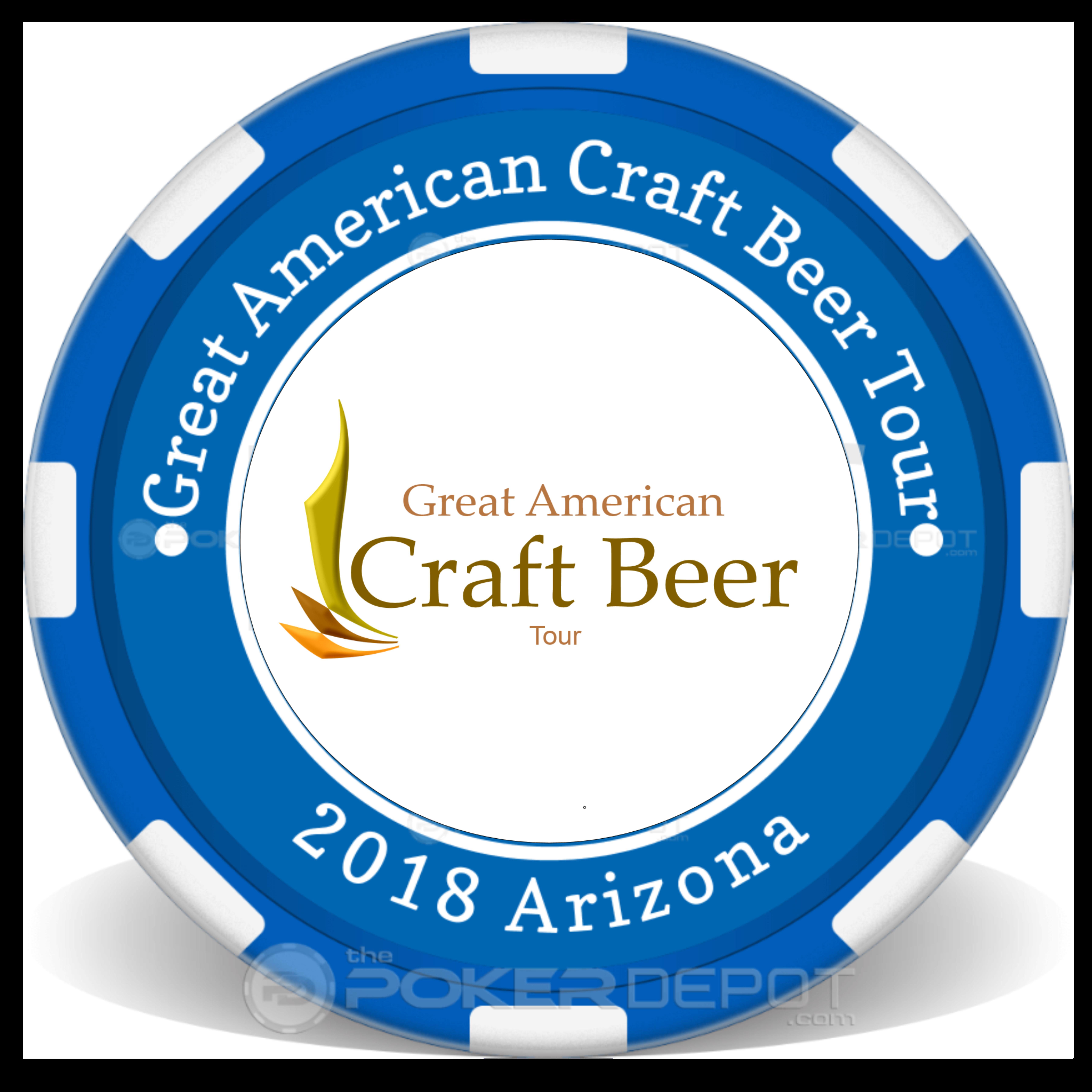 Great American Craft Beer Tour Token